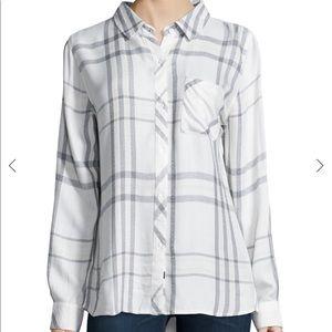 Rails Hunter Plaid Poplin Shirt